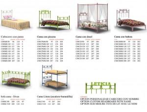Cabeceros de Cama y Cabeceros de Forja Dormitorios Juveniles de Forja Carim