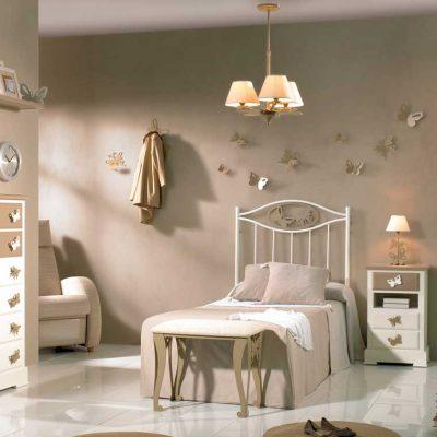 Dormitorio Juvenil de Forja Fantasía