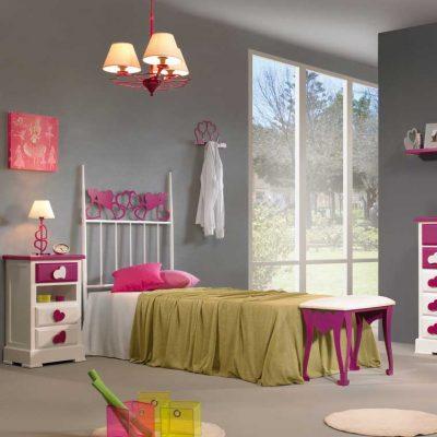 Dormitorio Juvenil de Forja Cuore