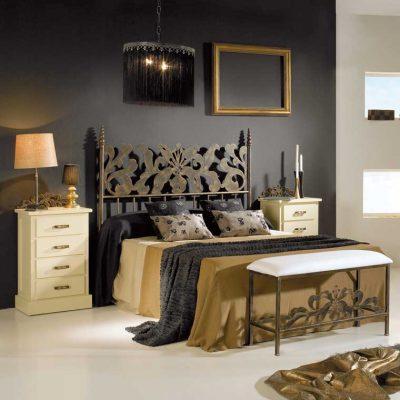 Dormitorio Matrimonio de Forja Alexia