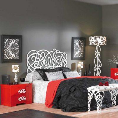 Dormitorio Matrimonio de Forja Algarabia