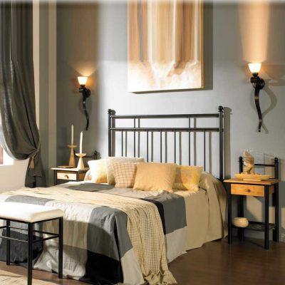 Dormitorio Matrimonio de Forja Eva