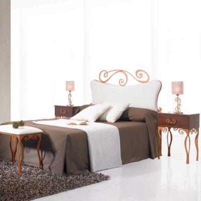 Dormitorio Matrimonio de Forja Isabel