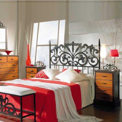 Dormitorio Matrimonio de Forja Kali